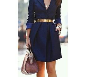 blue, dress, and fashion image