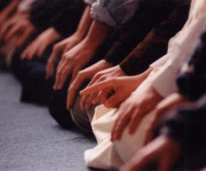 islam, muslim, and prayer image