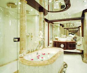 luxury, bathroom, and interior image