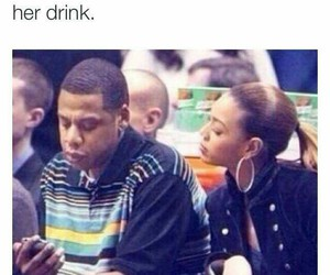 funny, beyoncé, and jay-z image