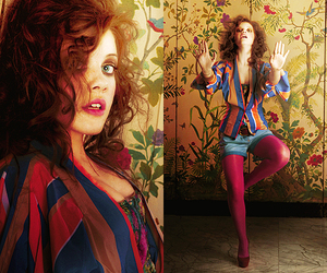 colors, georgie henley, and photoshoot image