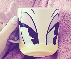 disney, coffee, and daisy image