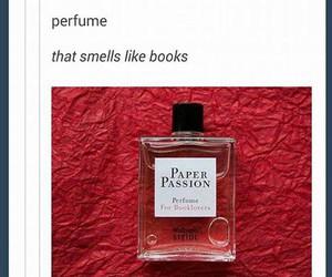 book, tumblr, and perfume image