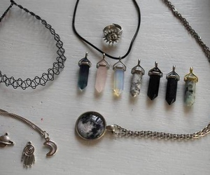 grunge, choker, and necklace image