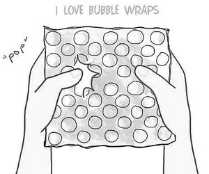 bubbles, bubble wraps, and pop image
