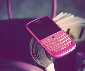 blackberry, pink, and vogue image
