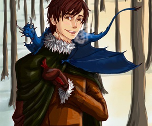 christopher paolini, eragon, and inheritance cycle image