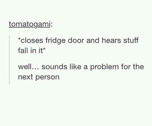 food, fridge, and funny image