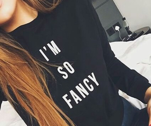 black, fancy, and fashion image