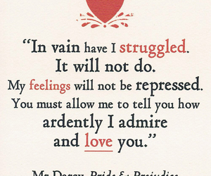 pride and prejudice and love image