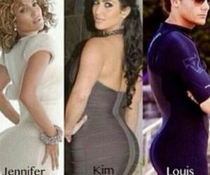 one direction, Jennifer Lopez, and kim kardashian image