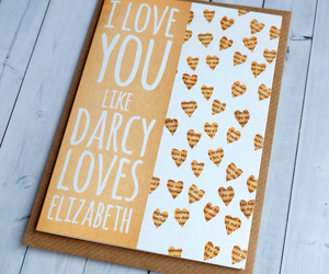 darcy, pride and prejudice, and love image