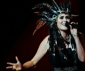 crown, symphonic metal, and sharon den adel image