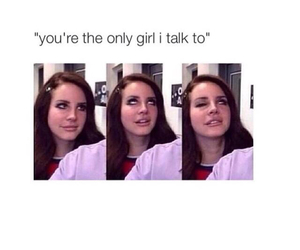 funny, lana del rey, and lol image