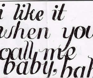 quote, baby, and text image