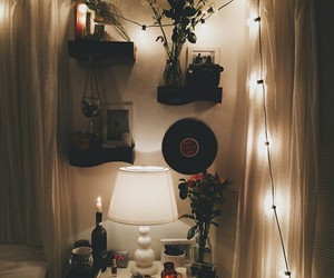 room, light, and hipster image
