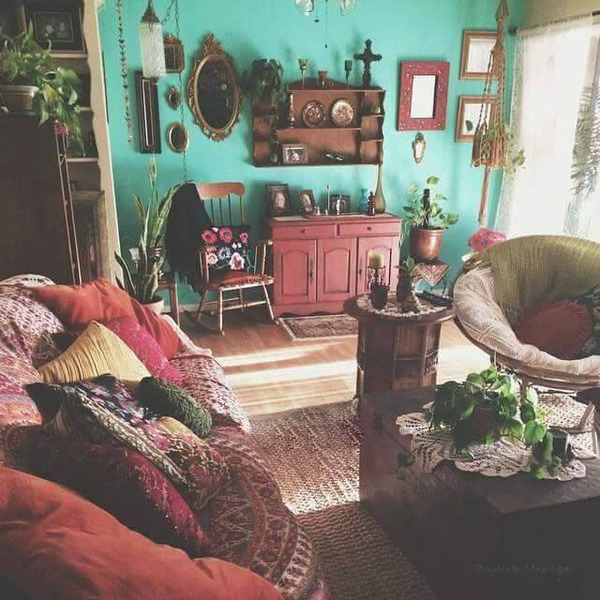 boho and home image