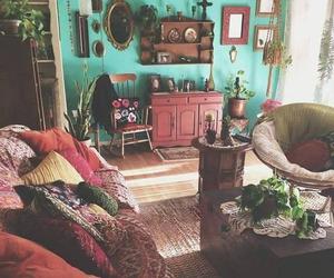 boho and home image