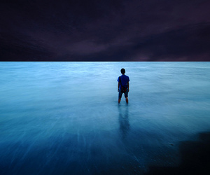 boy, photography, and water image