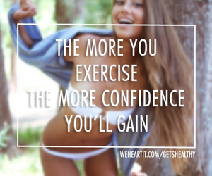 confidence, fit, and exercise image