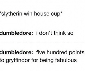 dumbledore, slytherin, and fabulous image
