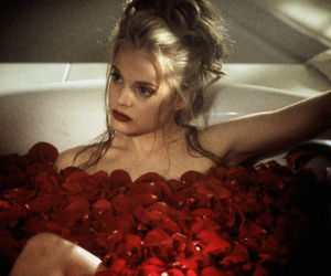 american beauty, 90s, and red image