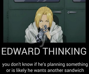 anime, fma, and edward elric image