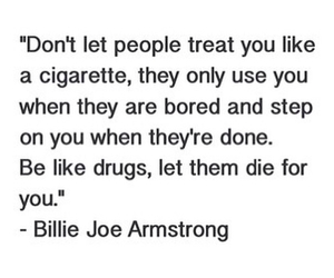 cigarette, drugs, and green day image