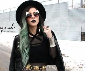 cute girl, alternativo, and fashion image