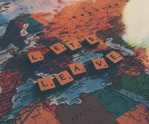 travel, Dream, and leave image
