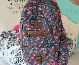backpack, tumblr, and bag image