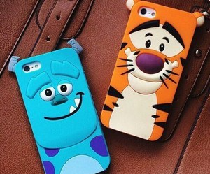 cellphone, fashion, and monster inc image