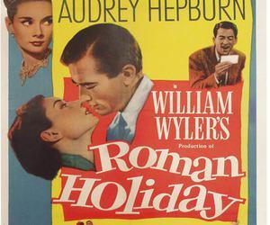 audrey hepburn, movie, and roman holiday image
