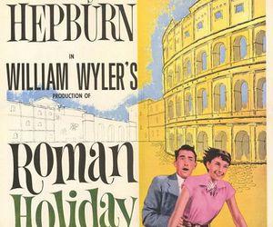 audrey hepburn and roman holiday image