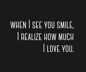 boyfriend, fall in love, and smile image