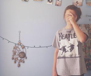 beatles, bedroom, and brunette image