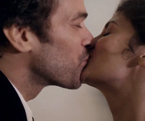 audrey tautou, beso, and movie image