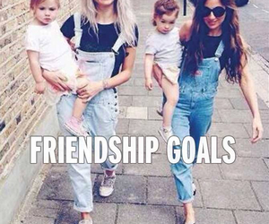 goals, friendship, and baby image