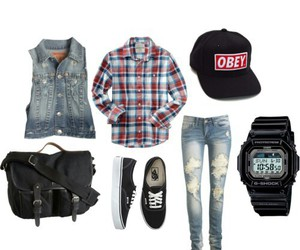 swag, clothes, and obey image