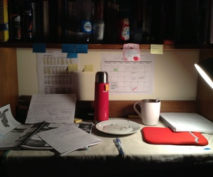 coffee, Estudio, and night image