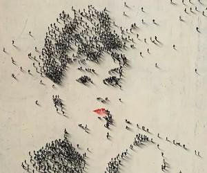 audrey hepburn, people, and art image