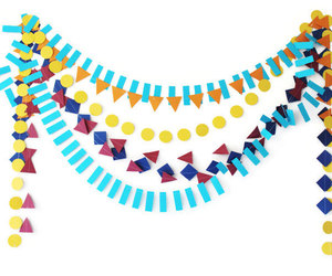 garland, Paper, and papergarland image