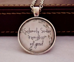 harry potter, mischief managed, and movie quote image