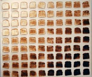 toast, bread, and food image