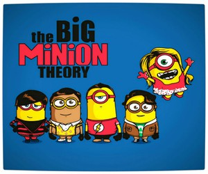 minions, the big bang theory, and big bang theory image