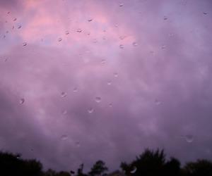 rain, sky, and grunge image