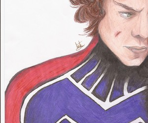 drawing, one direction, and hero image