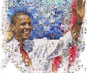 2008, mosaic images by tsevis, and barack image
