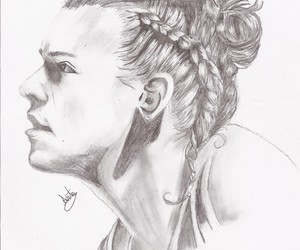 drawing, Harry Styles, and one direction image