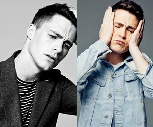 colton haynes, arrow, and teen wolf image